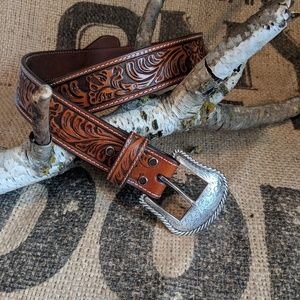 Nocona Genuine Leather Belt